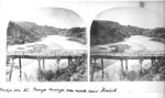 Bridge over the Mange Mange roa creek near Howick; Rev. John Kinder (1819-1903); c1861; 4124