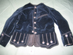 Velvet Jacket; early 20th century; A3