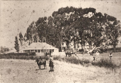 House and surroundings at Hawthorn Farm before alt...