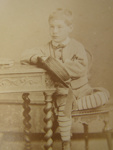 Edward Glenn Charles at 7 years and 2 months; Fred K. Downer; 1876; 2011.72.48