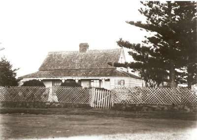 Mrs. Bishop's Home in Ridge Road, Howick, New Zeal...