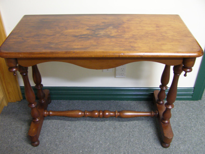 Kauri Hall Table; Unknown; 1860s; 2012.4.1