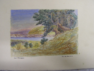 Near Whangapoa.The Day After 10. 5. 20; Col. Arthur Morrow (1842-1937); 1920; 2010.71.1