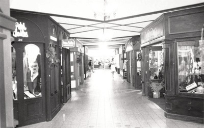 Howickville shops. Photo taken in 1980 for Easster...