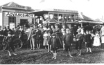 First Motor Bus Trip arrives inHowick; 1904; 9605