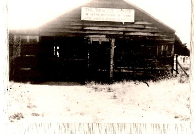 Sivewright's forge, Howick, c.1920.; c 1920; 11038