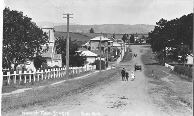View of Picton Street, Howick, looking East with A...