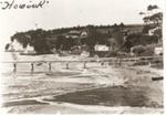 Howick Wharf and Beach c1910.; c. 1910; 6001