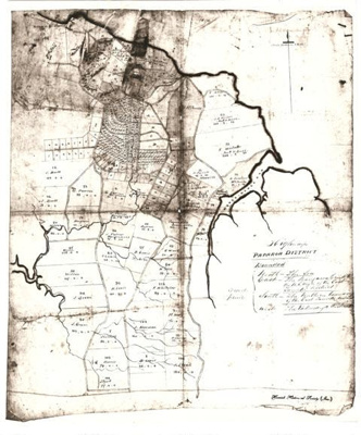 Reproduction of a map of Paparoa District (Howick).