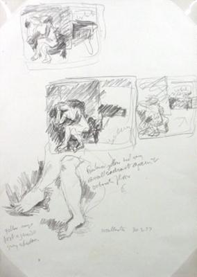 Studio Nude; Toss WOOLLASTON; 1977; 542