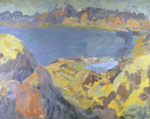 View from Takaka Hill; Toss WOOLLASTON; 1976; 443