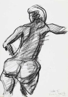 Nude II; Alan Pearson; 1985; 1209