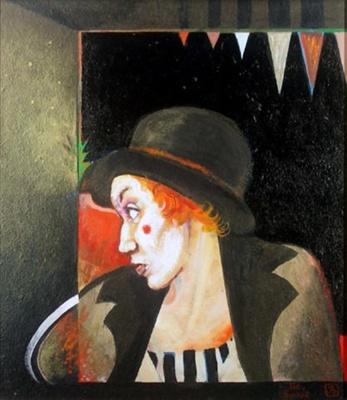 Lady Clown; Sally BURTON; 1982; 638