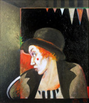 Lady Clown; Sally BURTON; 1982; 638