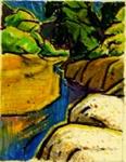 Untitled (tidal stream); Irvine MAJOR; 1129