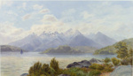 Lake Manapouri; John GULLY; 1887; 116