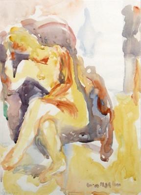 Suter Nude; Toss WOOLLASTON; 1977; 517