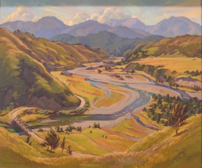 Golden Summer: Junction of the Buller and Howard Rivers; Irvine MAJOR; 1959; 962