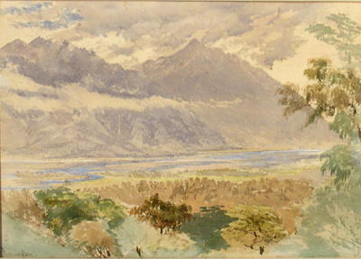 Valley in Teramakau; John GULLY; 924