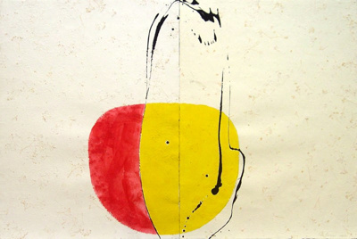 Great Gesture Drawing (diptych); Max GIMBLETT; 1999-2000; 1095