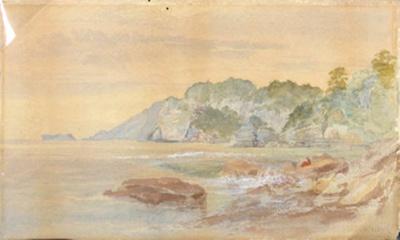 Pohara Beach; John GULLY; 1863; 8