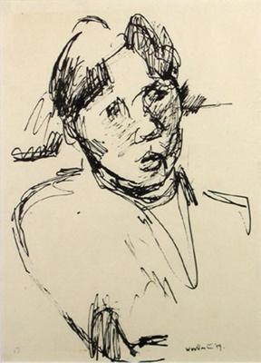 Maori Girl; Toss WOOLLASTON; 1959; 713