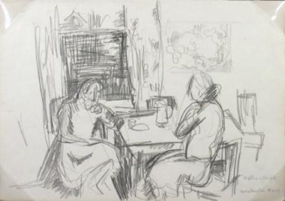 Edith and Anna; Toss WOOLLASTON; 1959; 519