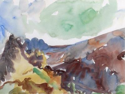 Takaka Hill View, Southwest; Toss WOOLLASTON; 1973; 522