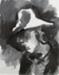 Edith in Hat; Toss WOOLLASTON; 1977; 508