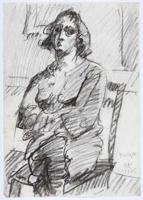 Dutch girl/Monique; Alan Pearson; 1985; 1233