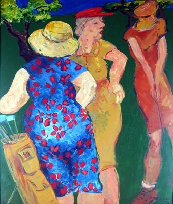 Ladies Day; Jane EVANS; 1978; 977