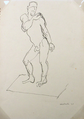 Male Nude; Toss WOOLLASTON; 1957; 433