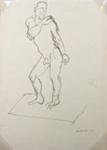 Male Nude; Toss WOOLLASTON; 1957; 433