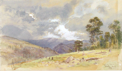 Before the Storm - Riwaka; John GULLY; 1888; 11