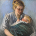 Mother and Child, Arndt Hermina, 1919, 129