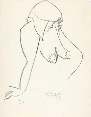 Nude; Alan Pearson; 1978; 1204