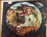 The First of NZ From the Last of England by Ford Madox Brown; Sally BURTON; 1985; 765