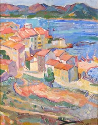 Untitled (Mediterranean Scene); Flora SCALES; 849