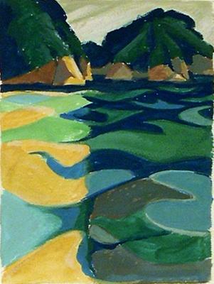 Untitled (waterscape); Irvine MAJOR; 1131