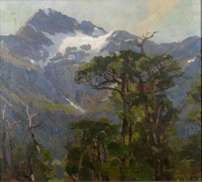 Mount Rolleston, Otira; Grace BUTLER; 736
