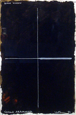 Black Window Towards Aramoana; Ralph HOTERE; 1981; 900
