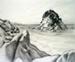 Untitled (beachscape); Irvine MAJOR; 02 MAR 1981; 1140