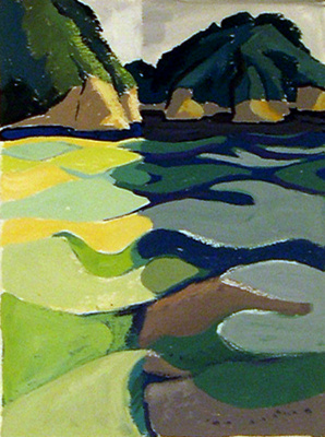 Untitled (waterscape); Irvine MAJOR; 1132