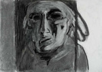 Self-portrait; Alan Pearson; 1999; 1262