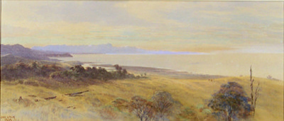 Golden Bay from Onekaka; John GULLY; 1884; 9