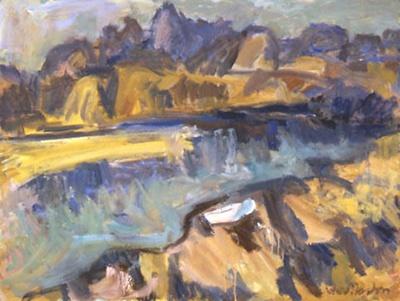 Motueka Harbour; Toss WOOLLASTON; 1970; 414