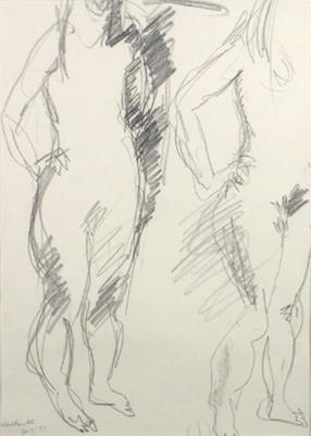Suter Nude; Toss WOOLLASTON; 1977; 544