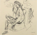 Girl with Pony Tail; Toss WOOLLASTON; 1950; 470