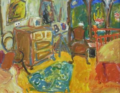 Room Study 5; Jane EVANS; 1977; 1166