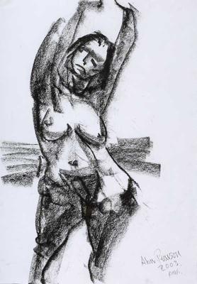 Nude; Alan Pearson; 2003; 1216